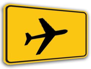 Anreise Flug